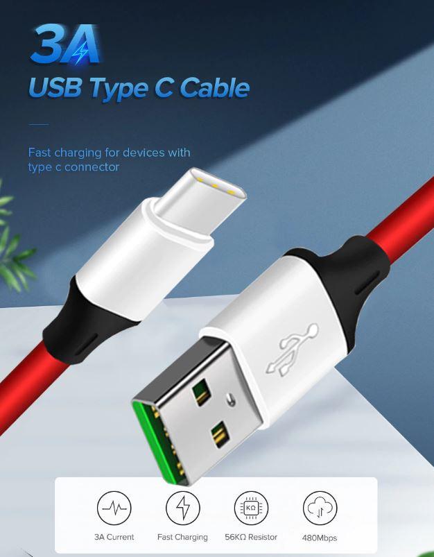 Кабель для телефонов с micro Usb / Type-C / Lightning