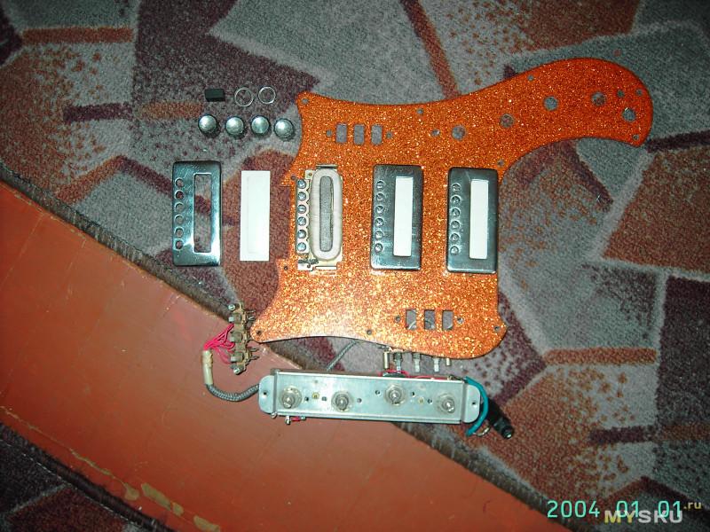 Восстановление гитары Урал (флешбэк из 2008г)