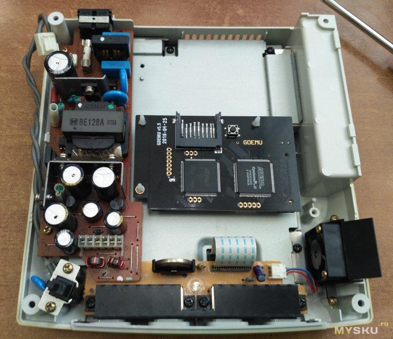 Плата виртуального привода GDEMU для Sega Dreamcast