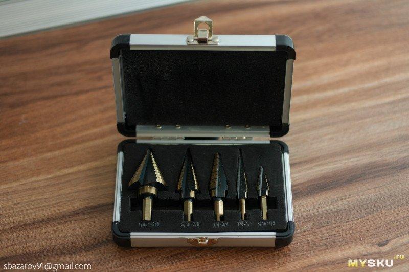 Конусные сверла Drillpro с кобальтовым покрытием за ,99
