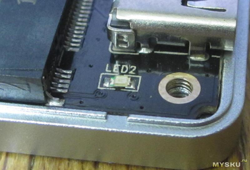 JEYI i9 GTR - type-c usb3.1gen2 nvme ssd box (на rtl9210)