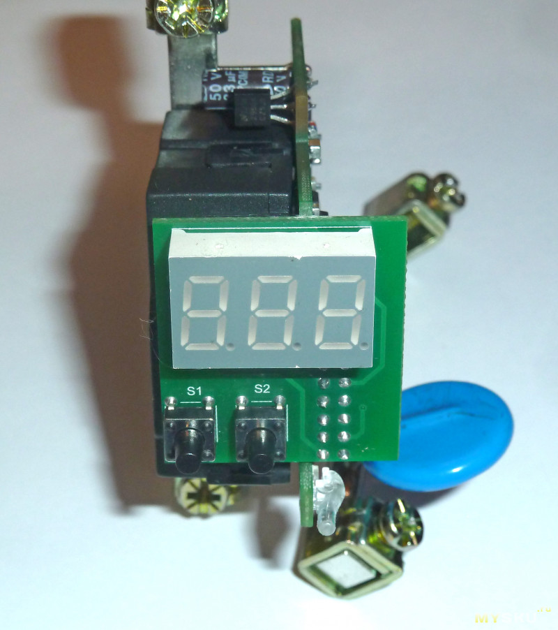 Однофазные реле контроля напряжения, часть 2 - Меандр УЗМ-50Ц