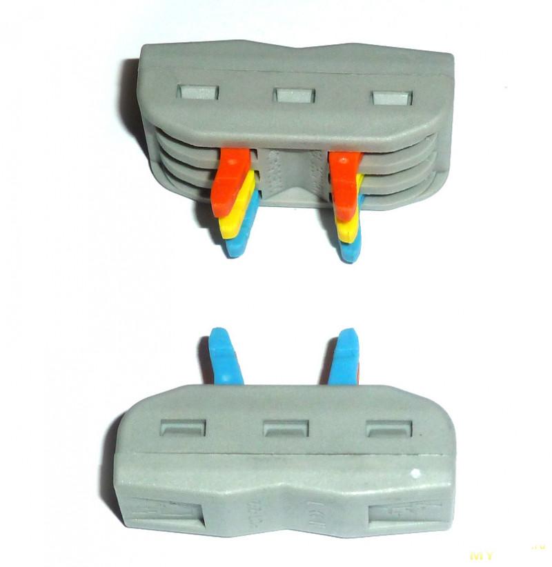 Проходные клеммники PCT-2-2 и PCT-2-3