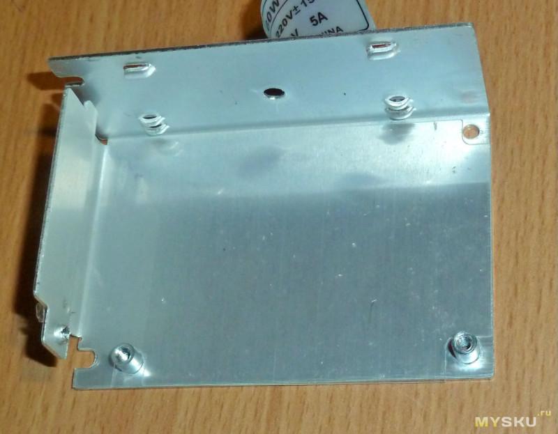 Блок питания 12V 5A 60W в металле