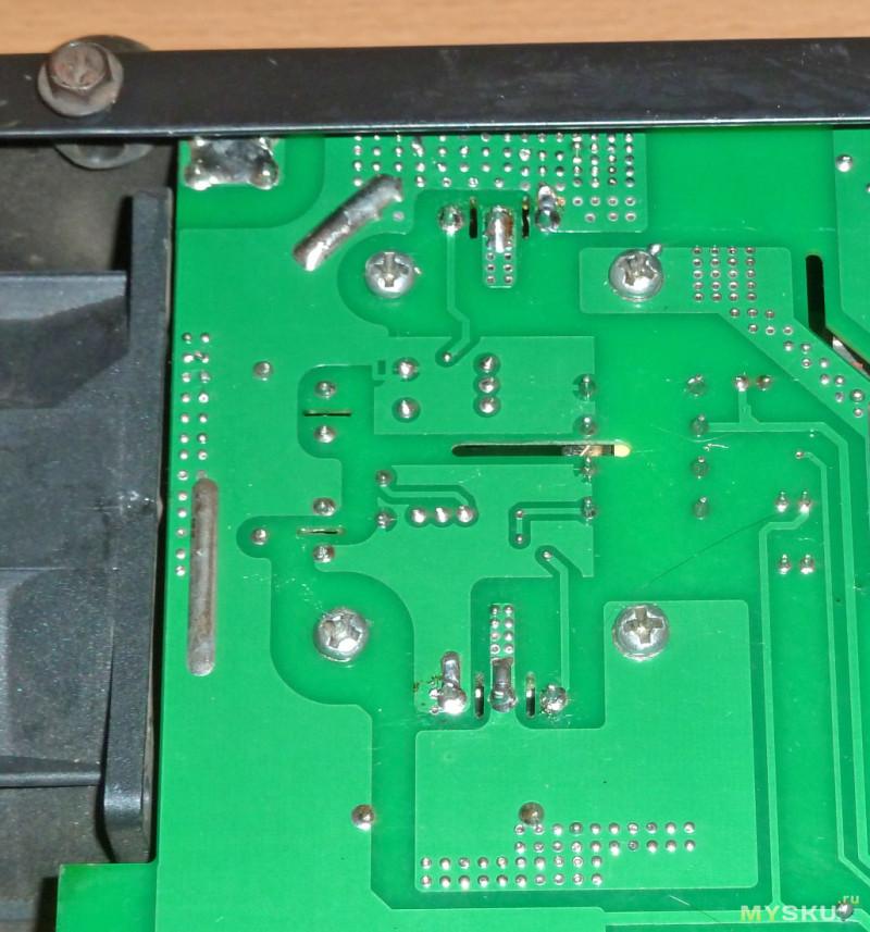 Простой ремонт сварочника EDON LV-200