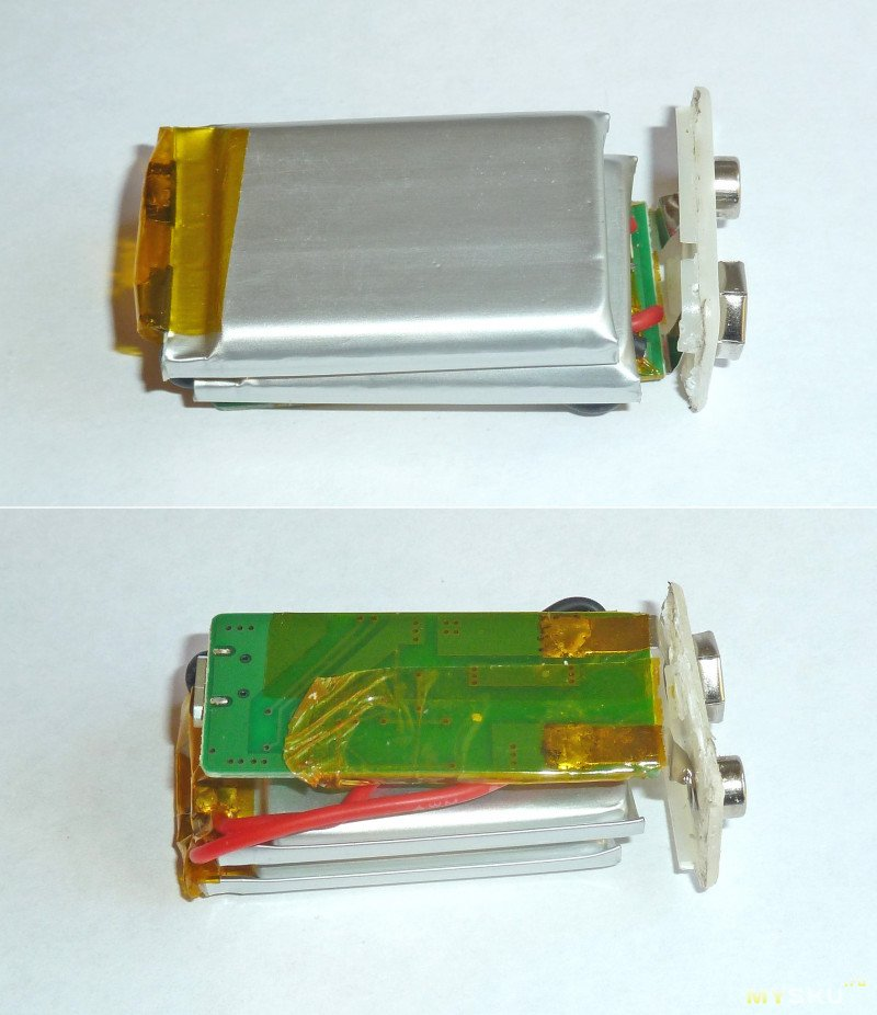 "Литиевые аккумуляторы ""Крона"" GTF 650mAh"