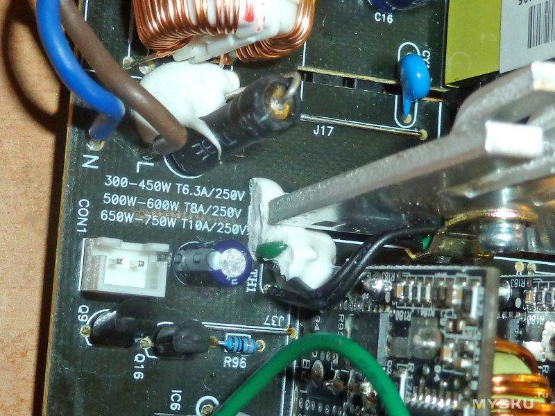 Электролитический конденсатор Nippon Chemi-Con KMR 420V/330uF для импульсных блоков питания
