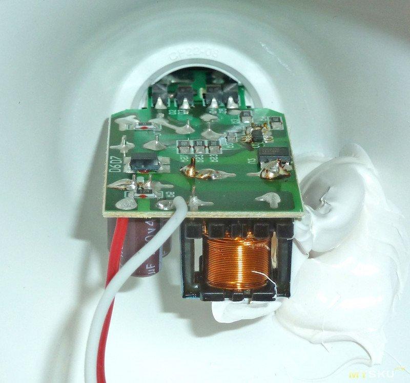 Продолжаем лампочки ремонтировать :)