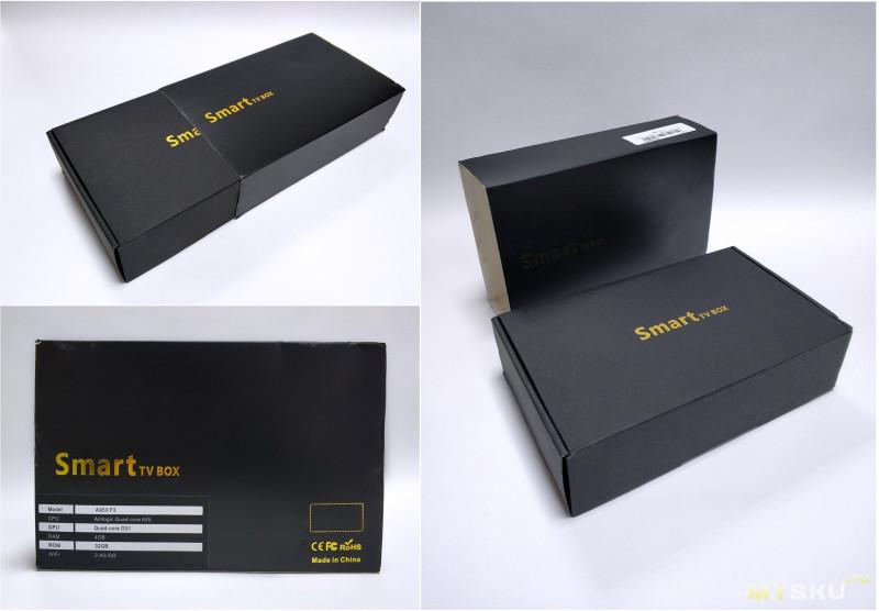 ТВ-бокс A95X F3 на Amlogic S905X3