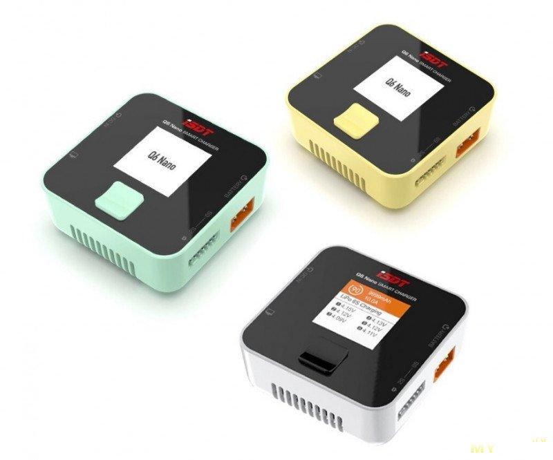 Универсальное зарядное устройство с 6S балансиром - ISDT Q6 Nano BattGo 200W 8A за 30 $