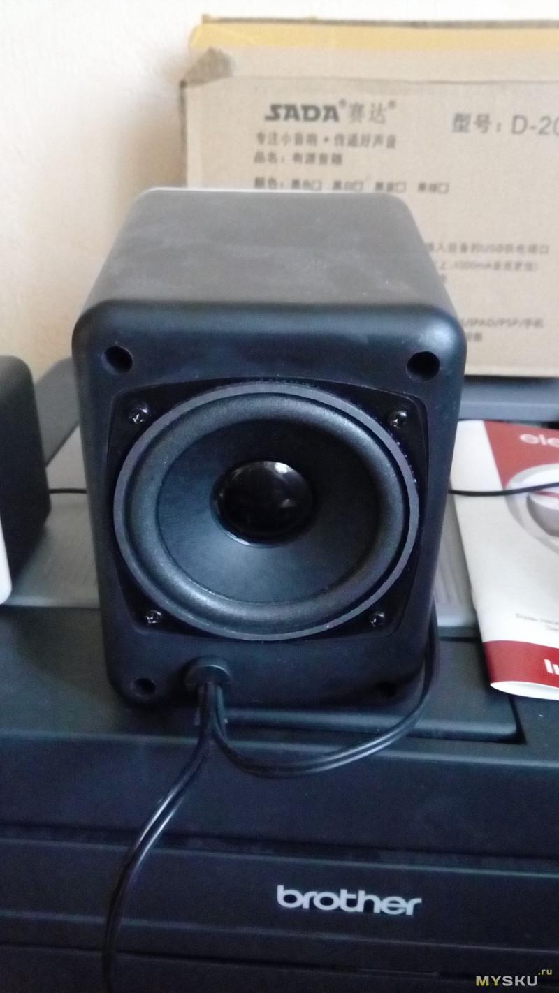 Миниобзор на компьютерную акустику SADA D-203 с питанием от USB
