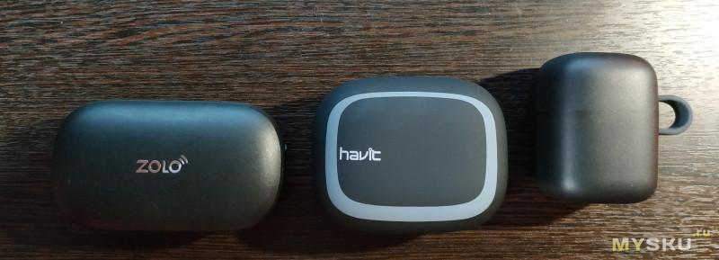 Havit i93 и сравнение с Havit G1 и Anker Zolo Liberty
