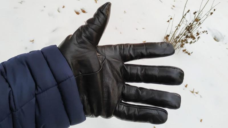 Мужские кожаные зимние перчатки, работающие с сенсорными экранами (краудфандинг Xiaomi)