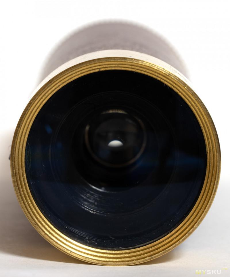 Латунная «морская» подзорная труба 25x30