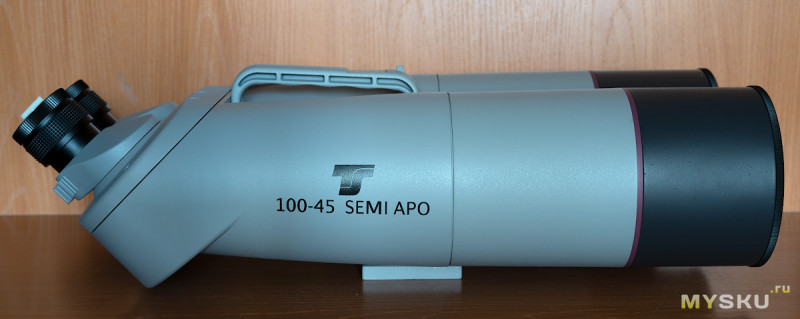 Монстробинокль: TS-Optics 100 mm Semi-Apo Binoculars