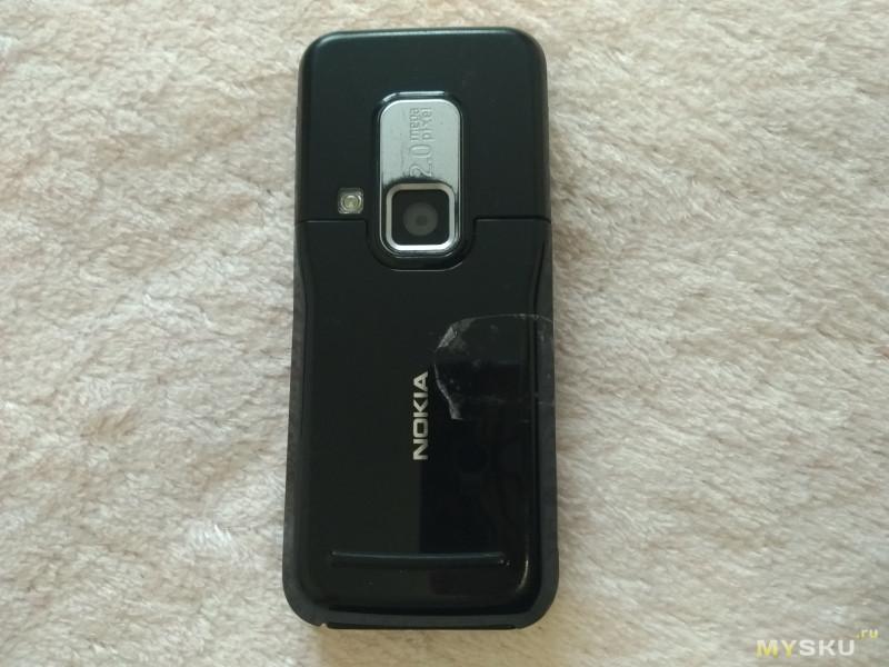 Замена корпуса Nokia 6120c