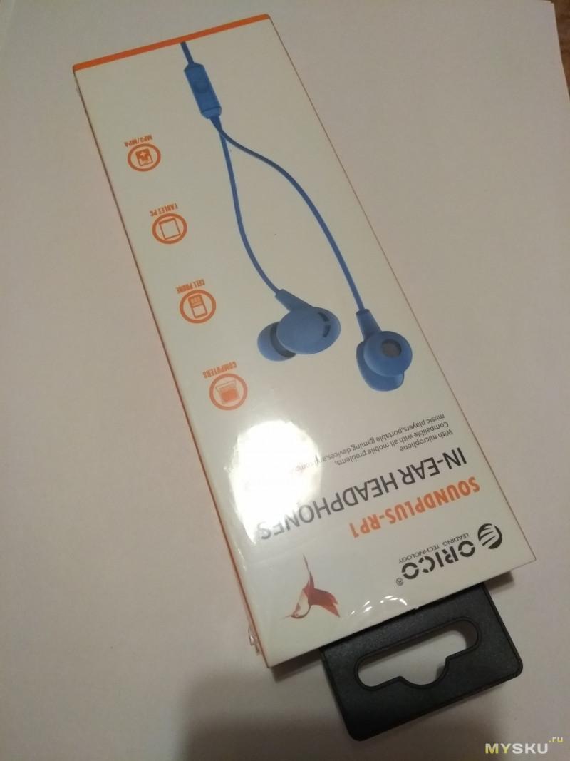 Неплохие наушники-гарнитура ORICO Soundplus-RP1