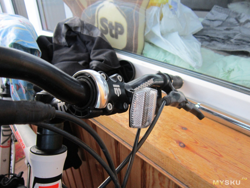 Необычный миниатюрный велосипедный звонок BIKIGHT