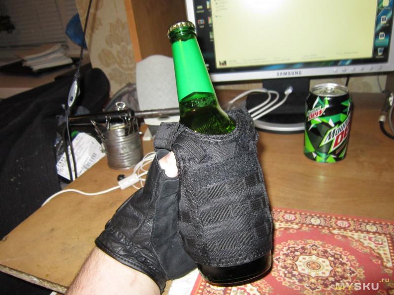 Бронежилет для... банок и бутылок?