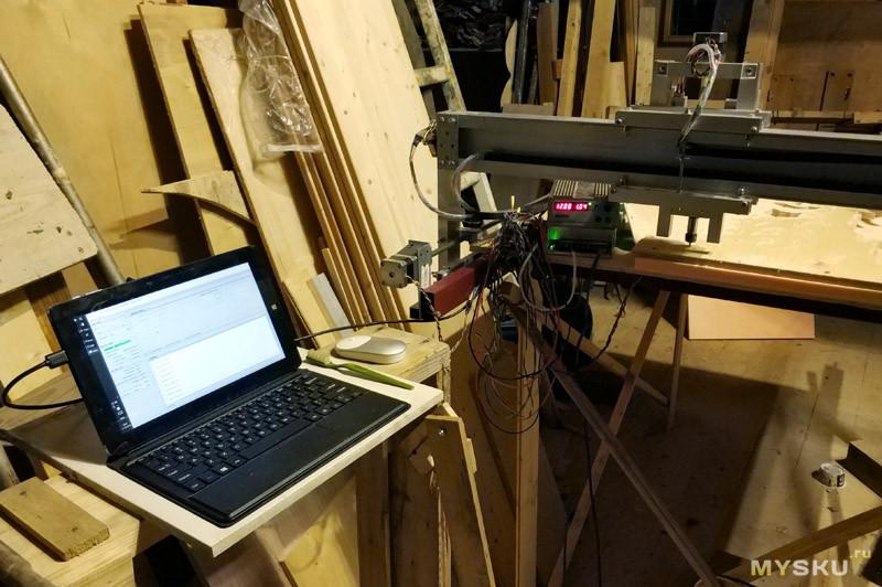 Ультрабюджетный крупноформатный ЧПУ станок по дереву Woodpecker