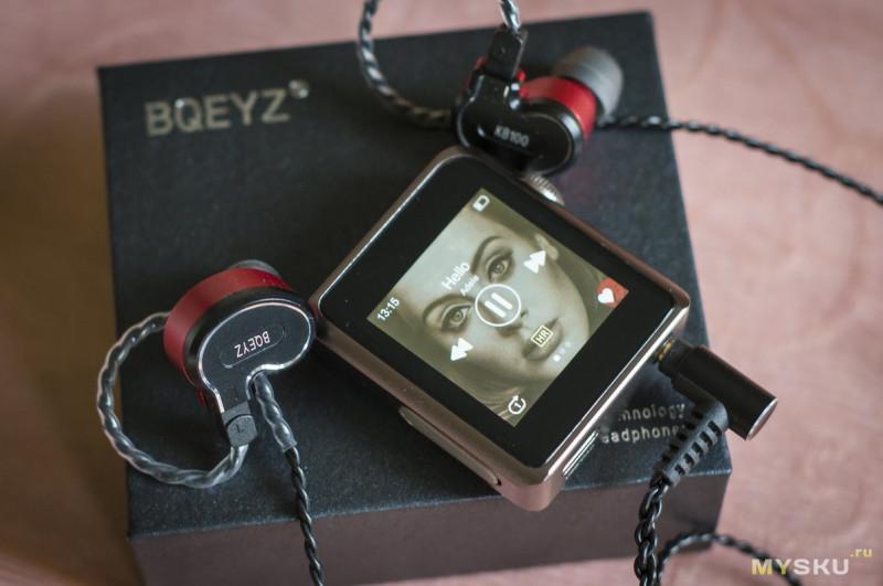 BQEYZ KB100 - необычная комбинация излучателей и вовлекающий звук