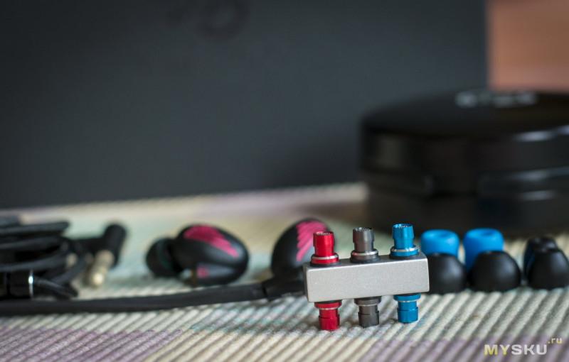 LZ A5 — гибридные наушники с возможностью настройки