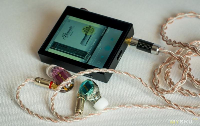 SHOZY & NEO CP — наушники с качественной настройки 3-х излучателей