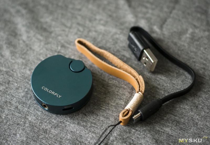 Colorfly BT-C1 — Bluetooth/USB ЦАП от известного бренда