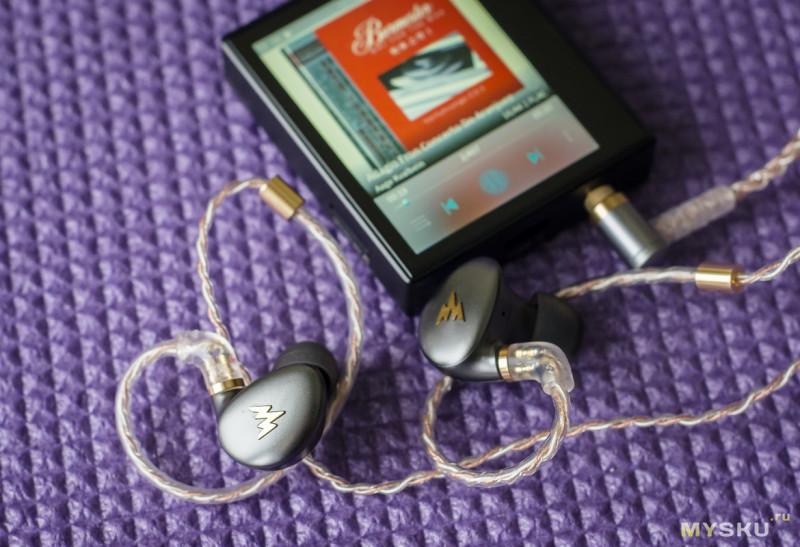 Whizzer Kylin (A-HE03) — наушники с красивым дизайном и басовитым звучанием