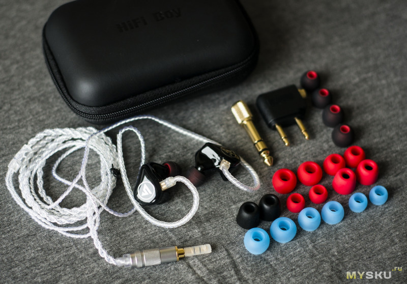 HIFI BOY OS V3 — гибридные наушники с нестандартной настройкой