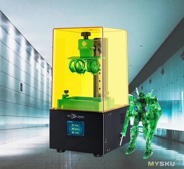 Фотополимерный 3D принтер ANYCUBIC Photon Zero