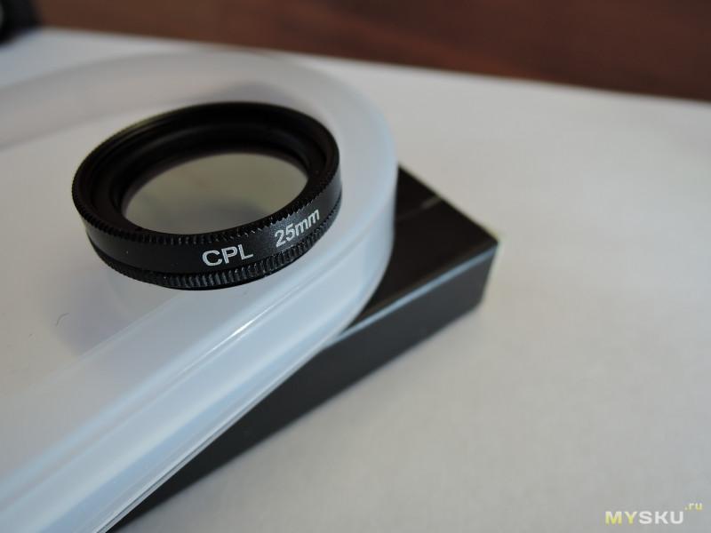 CPL фильтр 25 мм и его инсталляция (колхозинг) на видеорегистратор Xiaomi 70 Mai