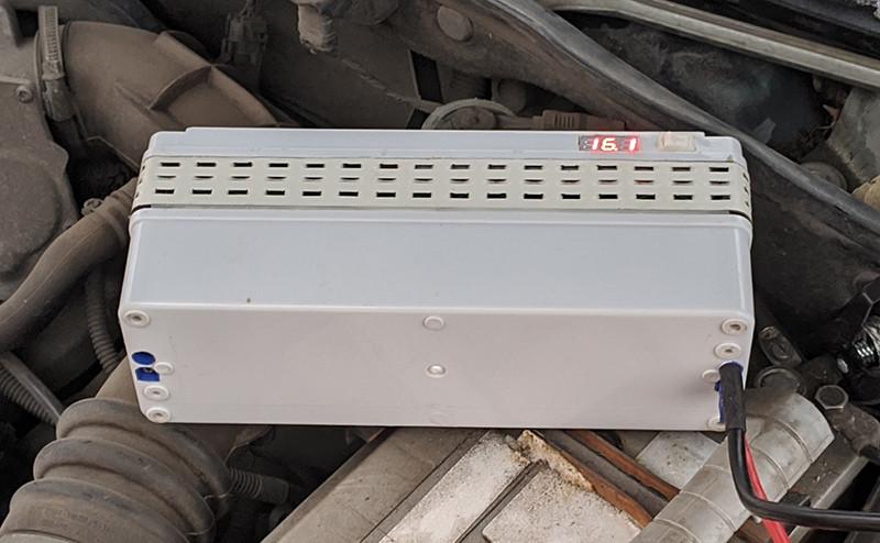 Суперконденсаторный джамп стартер - гарантированно запускаем двигатель в случае разрядки АКБ