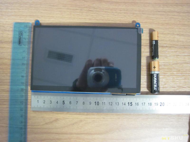 Монитор 1024 x 600 с IPS экраном, 7 дюймов, HDMI