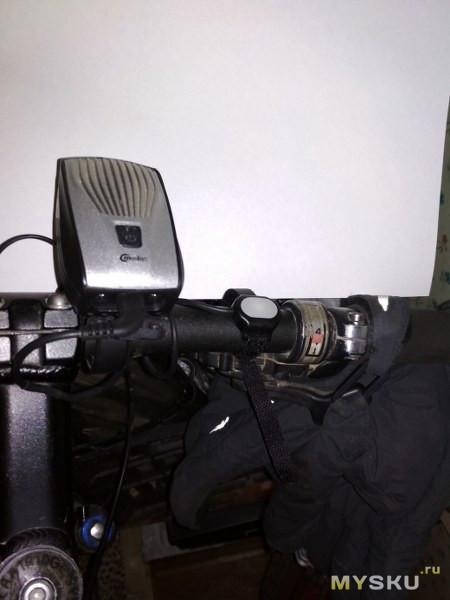 Выносная кнопка для велофары