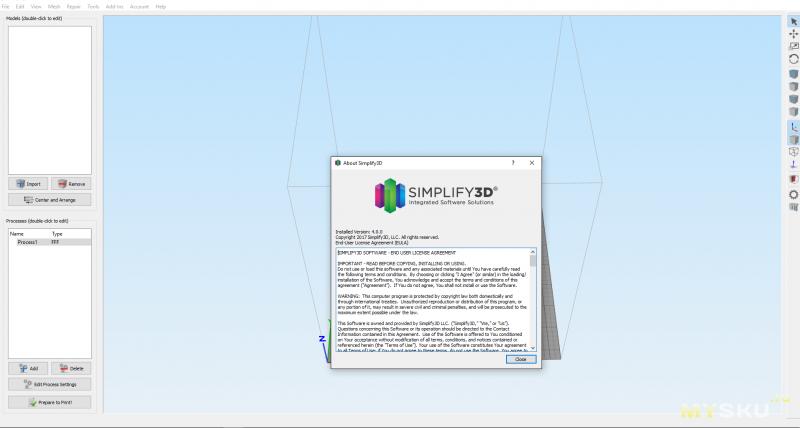 Руководство по установке и настойке Simplify 3D для принтера