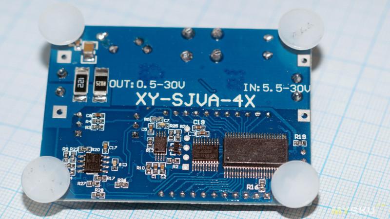 Повышающий/понижающий модуль 0.5-30В и 0.05-4А.