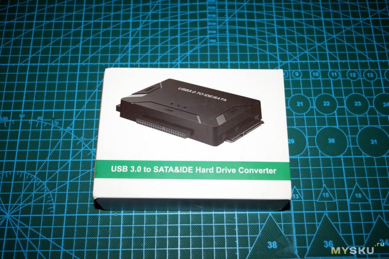 Компактная док-станция для IDE и SATA жестких дисков