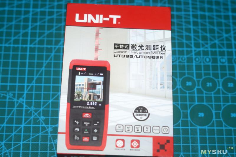 UNI-T UT396B - один из топовых лазерных дальномеров