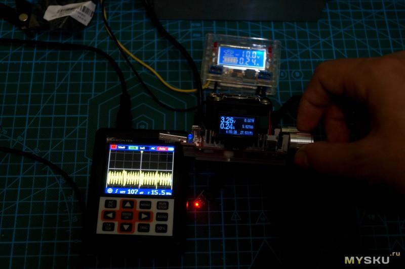 Парочка миниатюрных стабилизаторов до 3.3 Вольта.