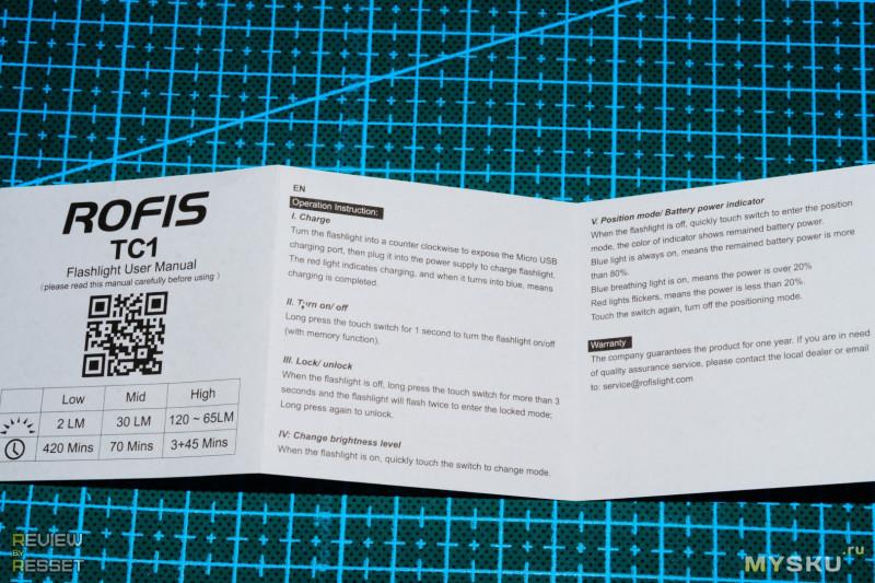 Rofis TC1. Миниатюрный наключник с сенсорной кнопкой.