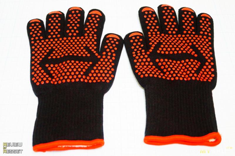 Термостойкие перчатки с порогом в 500°C.