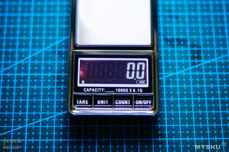 Мелкие весы до 1 кг с шагом 0.1 грамм