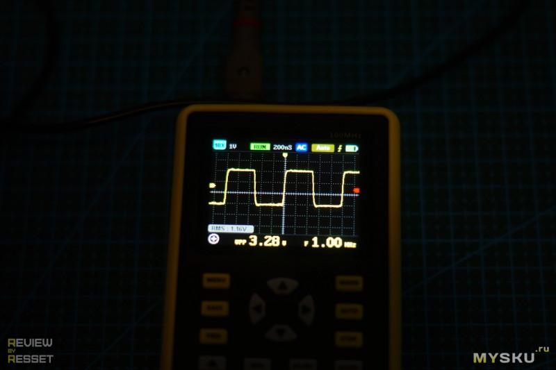 DANIU ADS5012H. Удобный осциллограф на 100MHz.