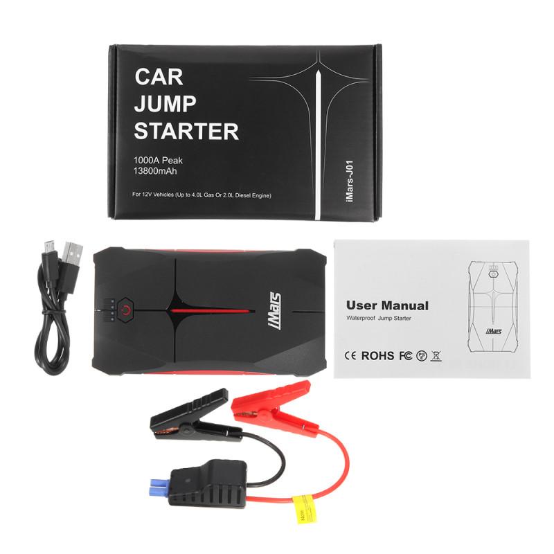 Портативное пуско-зарядное устройство $35
