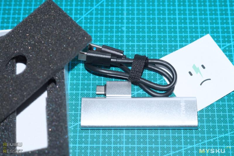 Миниатюрный внешний SSD BlitzWolf BW-PSSD1 на 256ГБ