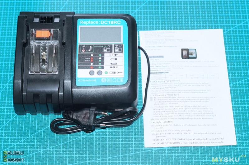 Импульсный винтоверт под 18В аккумуляторы Makita