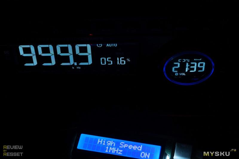 Мультиметр-BT колонка-часы ANENG AN888S