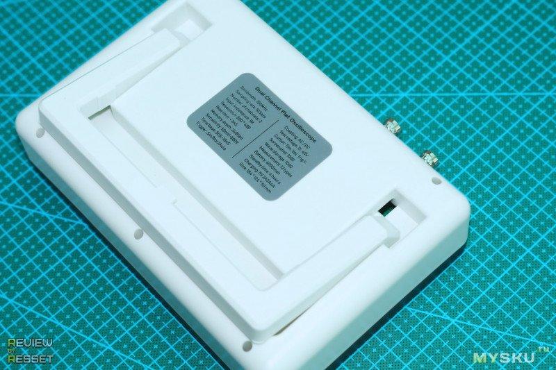 Осциллограф FNIRSI-1013D с двумя каналами по 100МГц