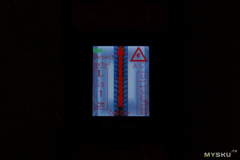 Рулетка + детектор проводки MAKA MK2101D за
